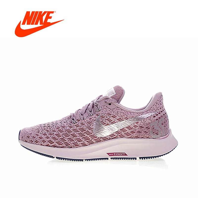 Original New Arrival Authentic NIKE AIR ZOOM PEGASUS 35 Womens Running Shoes Sneakers Breathable Sport Outdoor 942855-601