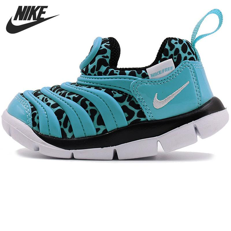 Original New Arrival NIKE DYNAMO FREE PRINT (TD) Kids shoes Children Sneakers