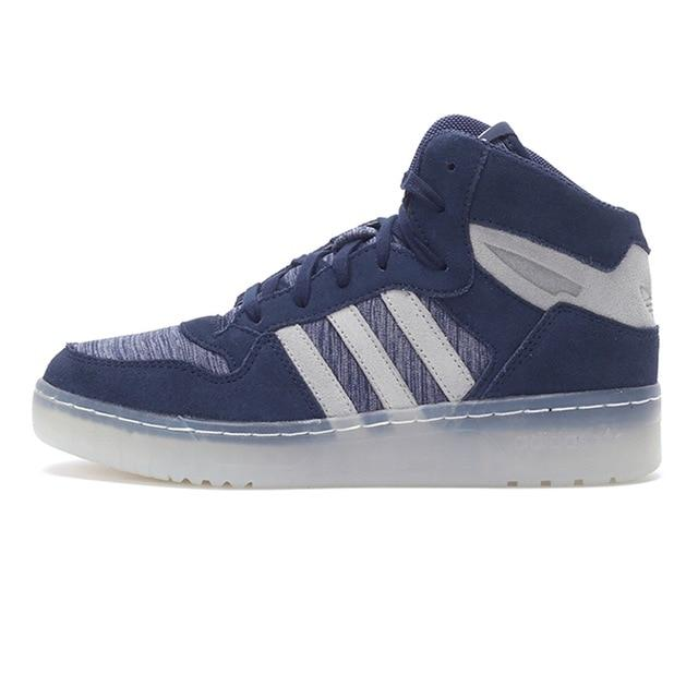 Original New Arrival Official Adidas Originals Women's High Top Skateboarding Shoes Sneakers
