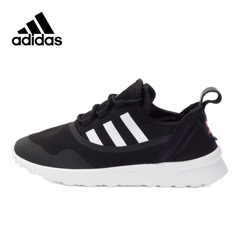 Original New Arrival Official Adidas Originals ZX FLUX ADV VIRTUE Women's Breathable Skateboarding Shoes Sneakers