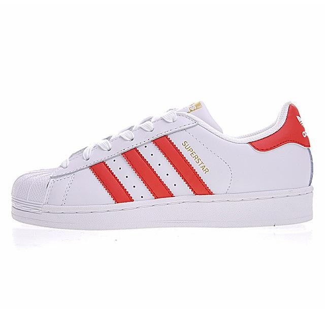 Original New Arrival Official Adidas SUPERSTAR Clover Women's And Men's Skateboarding Shoes Sport Outdoor Sneakers B23642