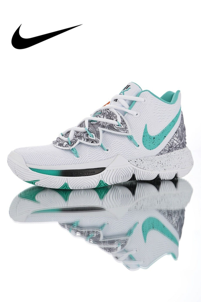 Original Nike Kyrie 5 Men's Basketball Shoes Breathable Breathable Outdoor Sports Designer Good Quality Athletic AO2919-010 - Cadeau Me