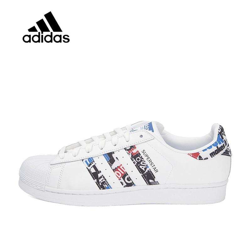 Original Official Adidas Clover SUPERSTAR Men and Women Skateboard Shoes Classic Breathable Shoes Outdoor Anti-slip Flat CP9760 - Cadeau Me