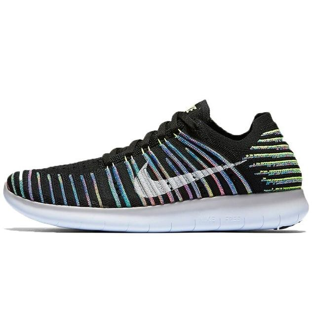 Original WMNS NIKE FREE RN FLYKNIT Women's  Running Shoes Sneakers - Cadeau Me