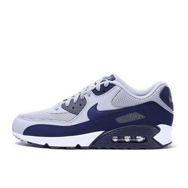 Original authentic NIKE AIR MAX 90 men's running shoes classic outdoor wear sports shoes comfortable breathable 537384-090