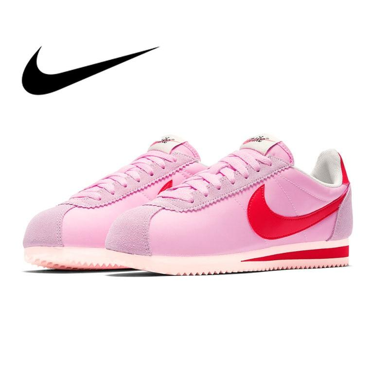 Original authentic Nike Classic Cortez Ladies Breathable Women's Running Shoes Fashion Sports Shoes Designer Shoes 882258-601