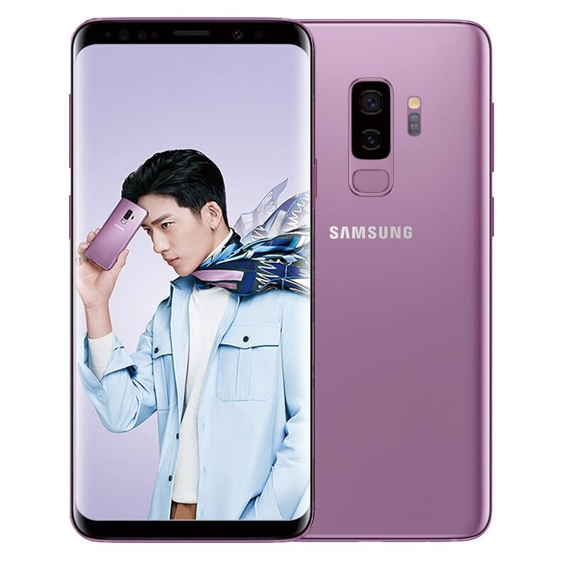 "Samsung Galaxy S9 Plus S9+ G965U Original Unlocked LTE Cell Phone Octa Core 6.2"" Dual 12MP 6GB RAM 64GB ROM NFC Snapdragon 845"