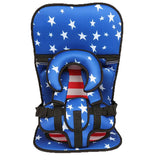 Baby portable car cushion child safety seat baby easy 0-4 year old 3-7 high