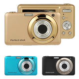 VODOOL 2.7 Inch 24MP Digital Camera 8X Optical Zoom Lens HD USB2.0 Children Camcorder Video Recorder Anti-Shake Photo DVR New - Cadeau Me