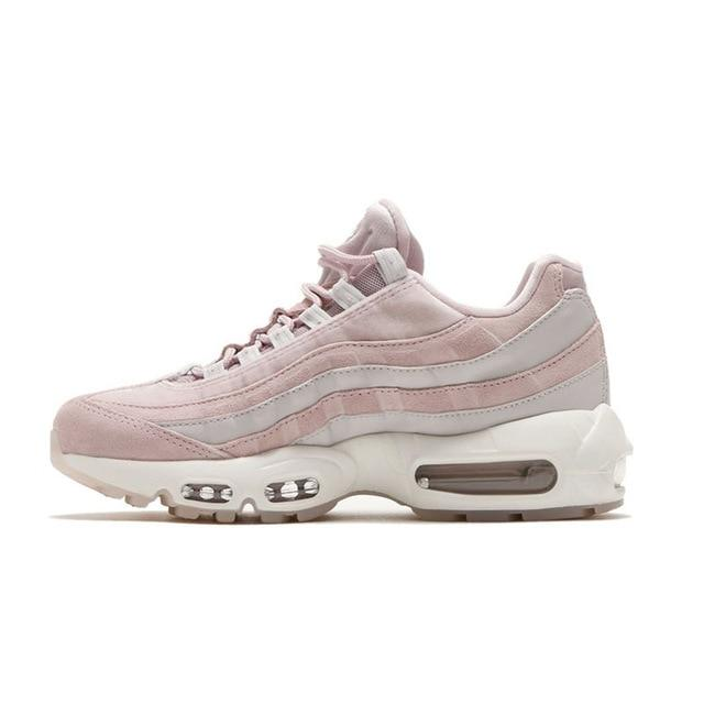 NIKE AIR MAX 95 LX Original Running Shoes For Women Stability Height Increasing Sneakers For Women Shoes #AA1103-600