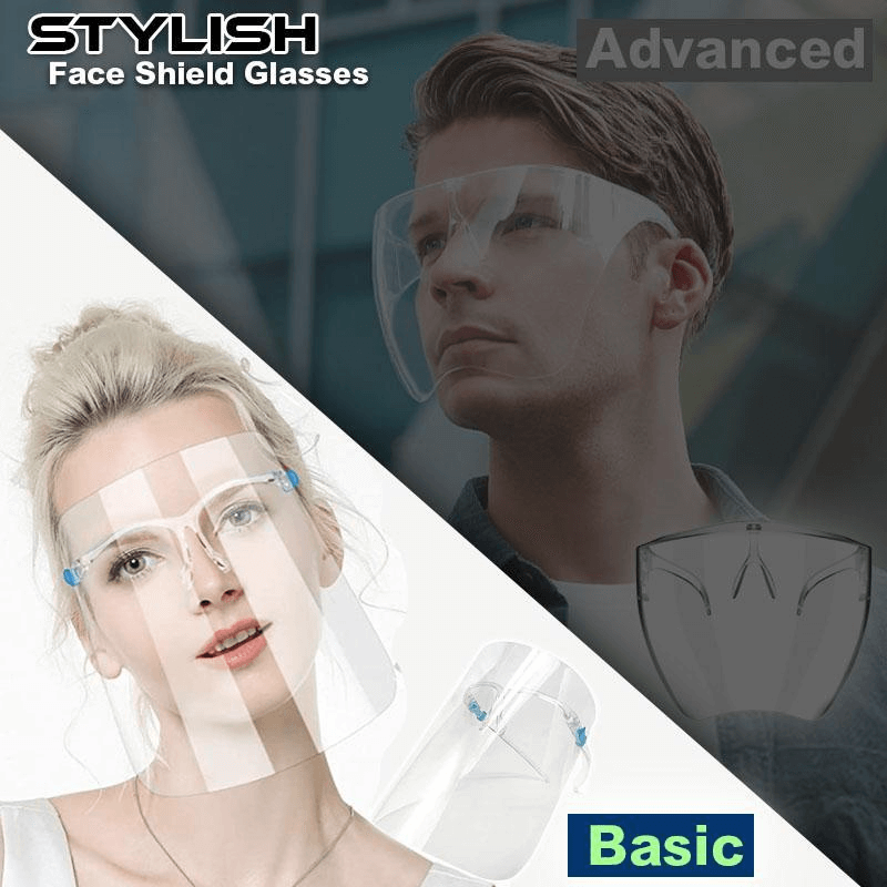 Sleek Style Face Shield Glasses