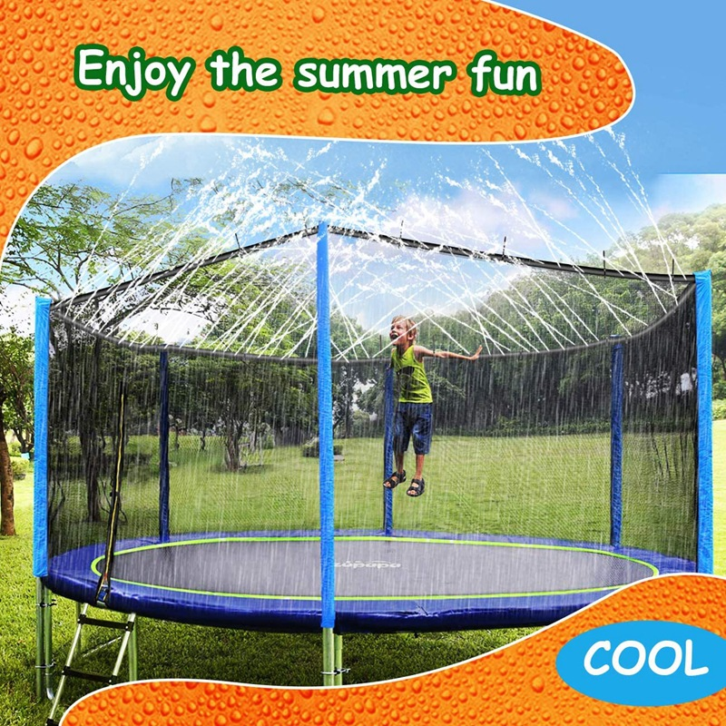 Trampoline Sprinkler for Kids Outdoor 26-49ft