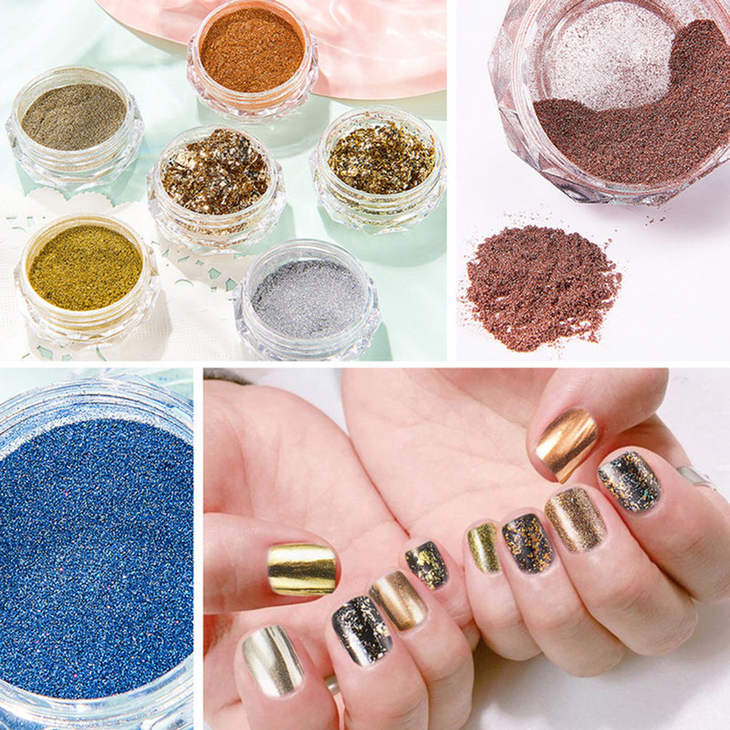 Mirror Chrome Powder Set