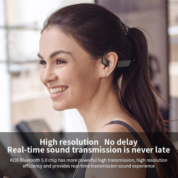Bone Conduction Headphones - Bluetooth Wireless Headset