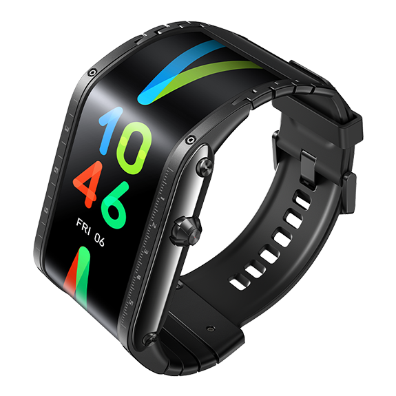 Flexible Display Smartwatch-A Wearable Smartphone With A Flexible Display
