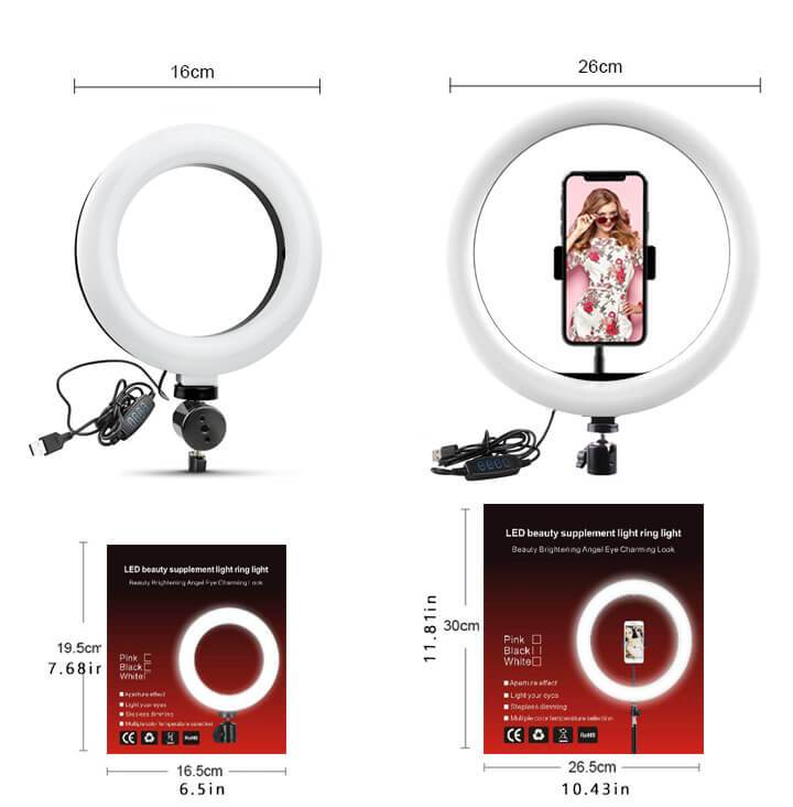 Professional LED Ring Light Kit - Hot Sale