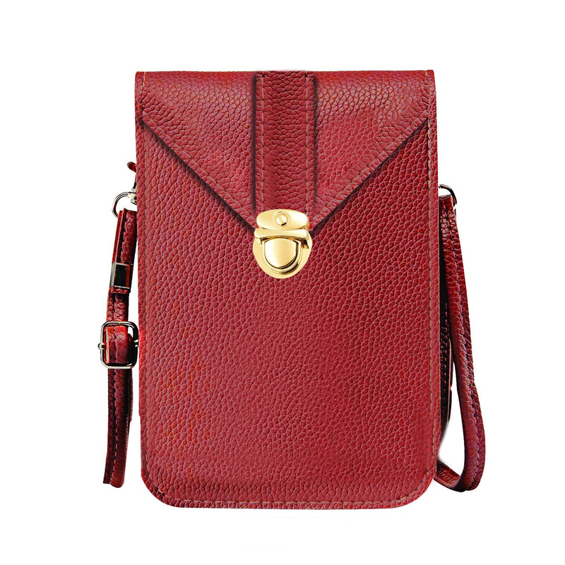 Waterproof Leather Crossbody Universal Phone Bag
