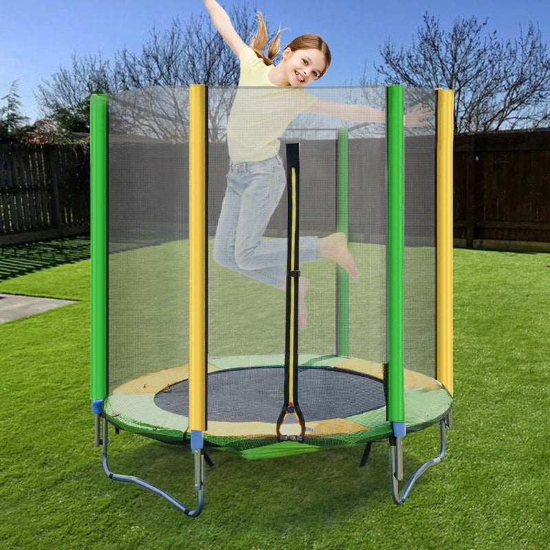 Kids Trampoline With Enclosure Net-Hot Sale