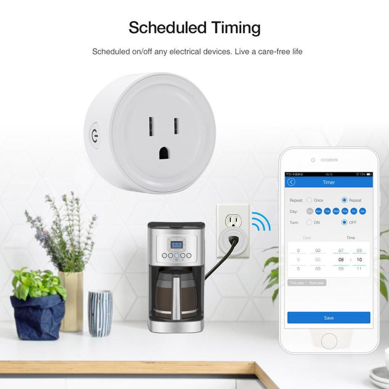 Smart WiFi Power Socket(White)