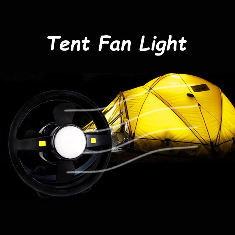 Tent Fan Light