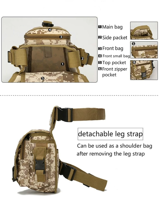 VERSATILE TACTICAL WAIST BELT BAG