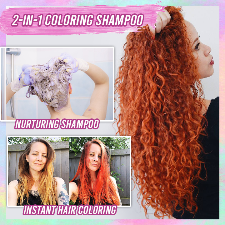 Hair Coloring Shampoo