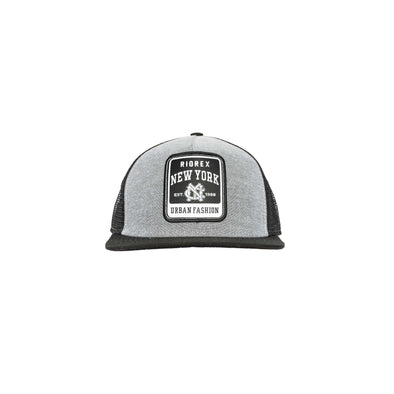 Black Merrowed Edge Patch Hat