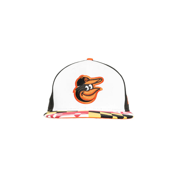 Orioles 3D Embroidery with Screen Printed Bill Hat