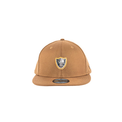 Raiders Steel Medallion Applique Hat