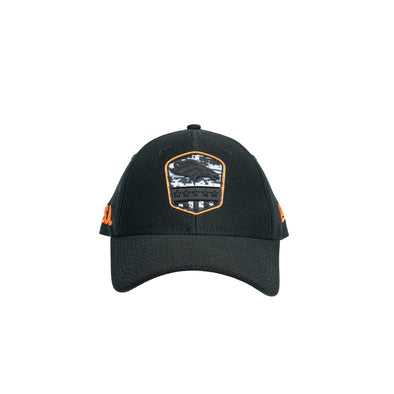 Black Hat Front Angle