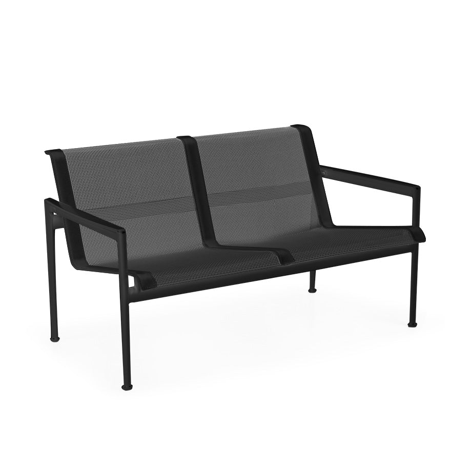 1966 Two Seat Lounge Chair With Arms By Richard Schultz