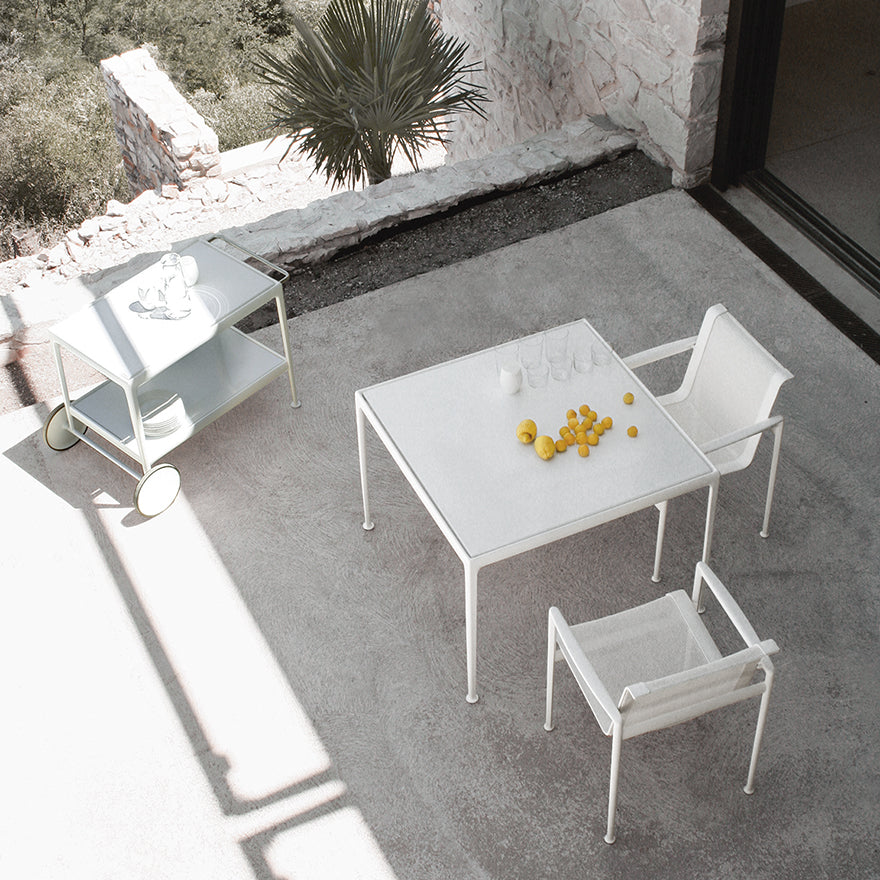"1966 38"" Dining table - Porcelain Top By Richard Schultz"