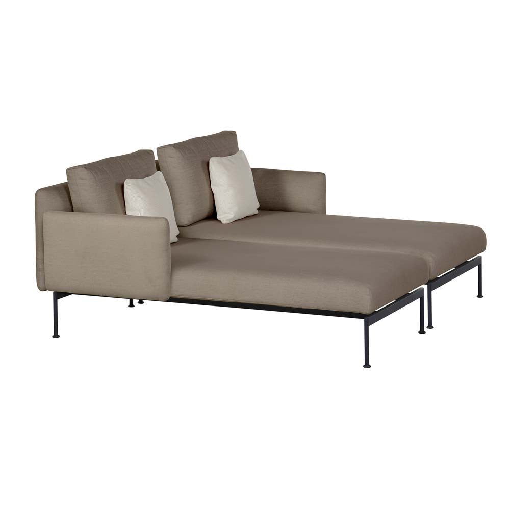 Layout Double Lounge Chaise