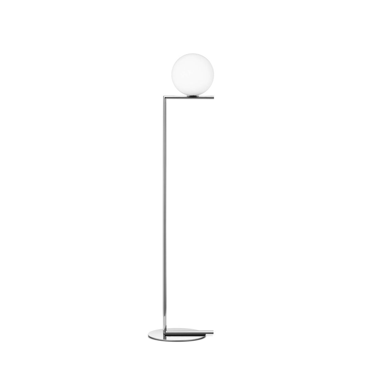 IC Lights Floor Dimmable Lamp Brass or Chrome