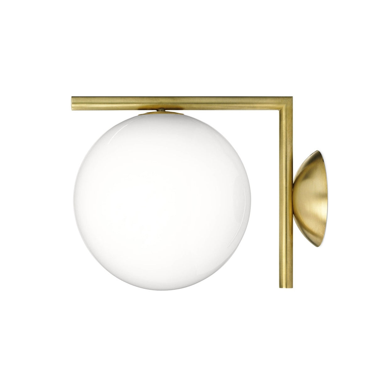 IC Lights C/W - Ceiling Wall Sconce In Brass or Chrome