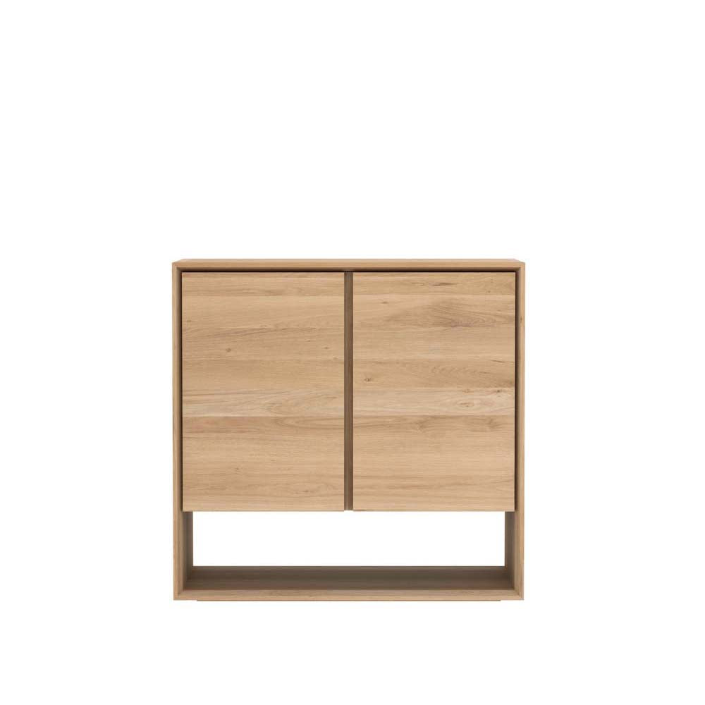 Oak Nordic Sideboard - 2 Doors