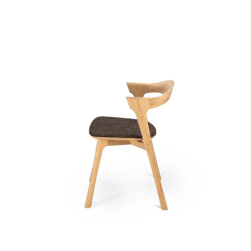Oak Bok Dining Chair - Dark Brown