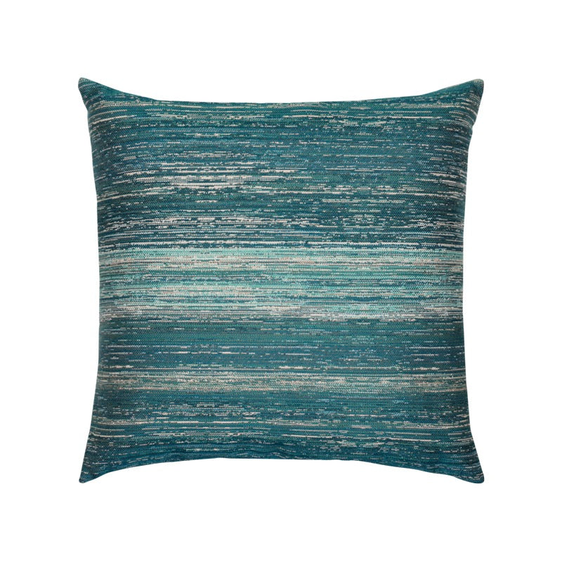Textured Lagoon Indoor/Outdoor Pillow 20""