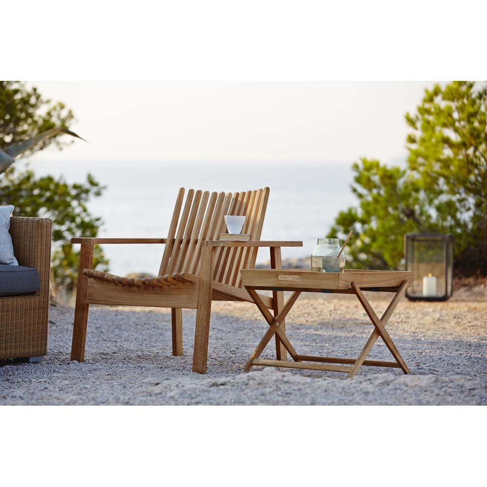 Amaze lounge chair, stackable