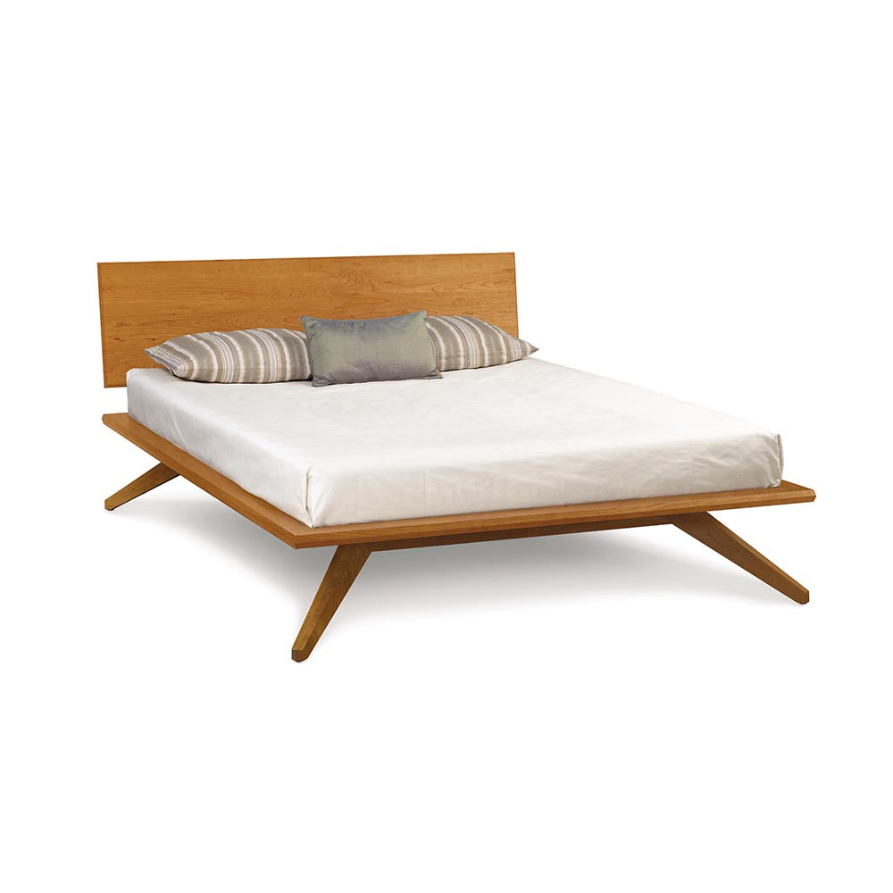 Astrid King Bed - Natural Cherry