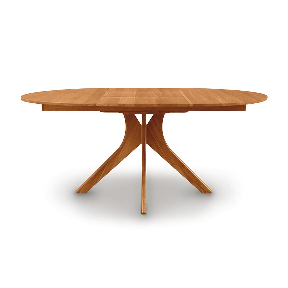 Audrey Round Extension Tables - Cherry