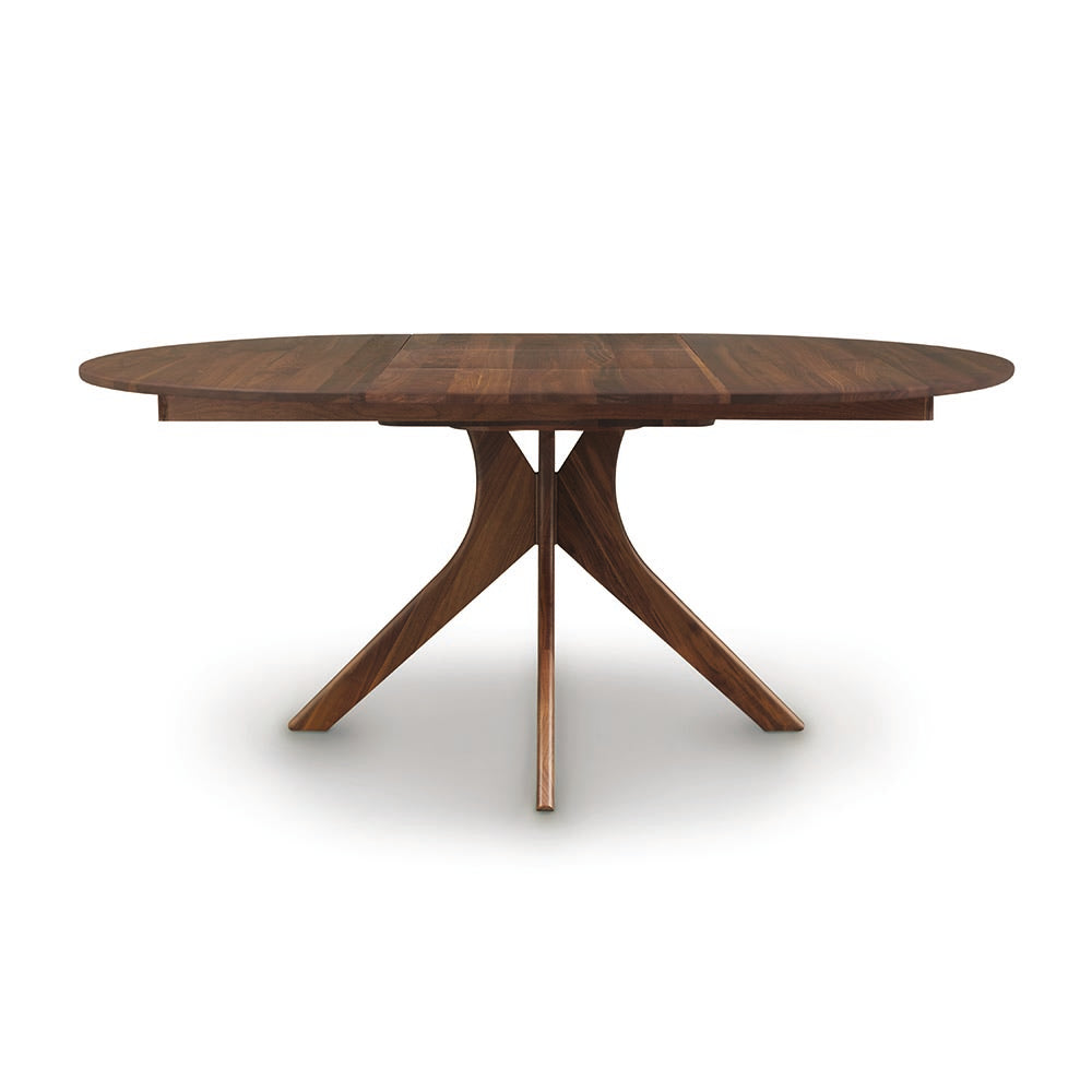 Audrey Round Extension Tables - Walnut