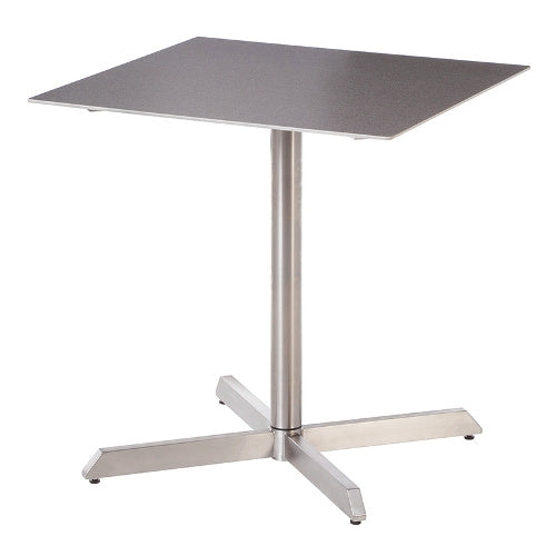 equinox square pedestal table 27""