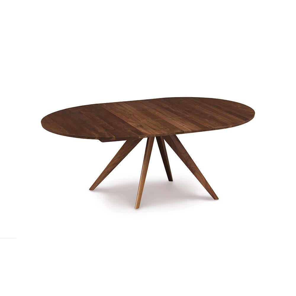 Catalina Round Extension Tables - Walnut