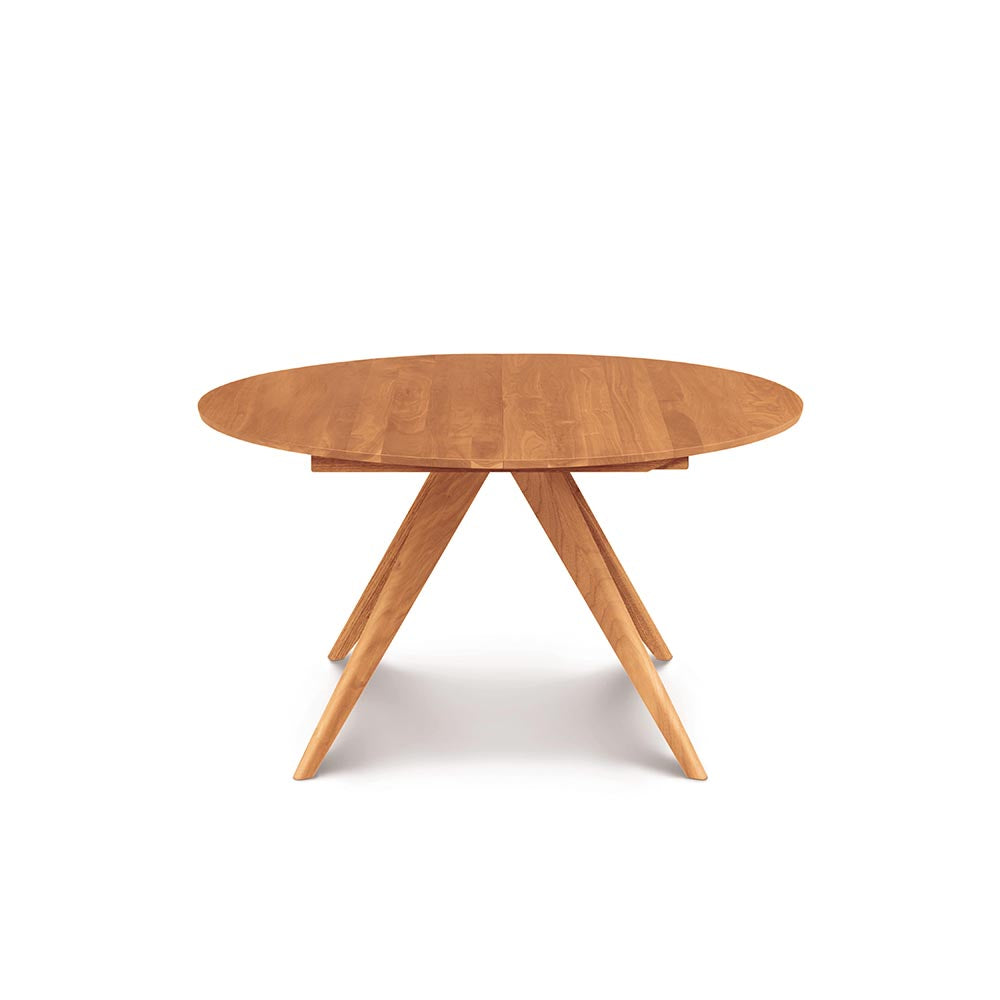 Catalina Round Extension Tables - Natural Cherry