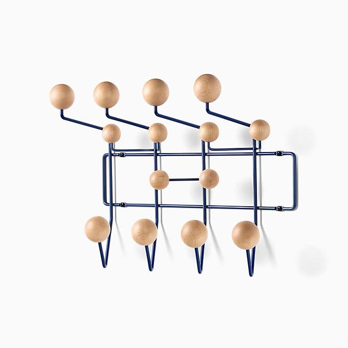 Eames Hang-It-All Dark Blue & Maple