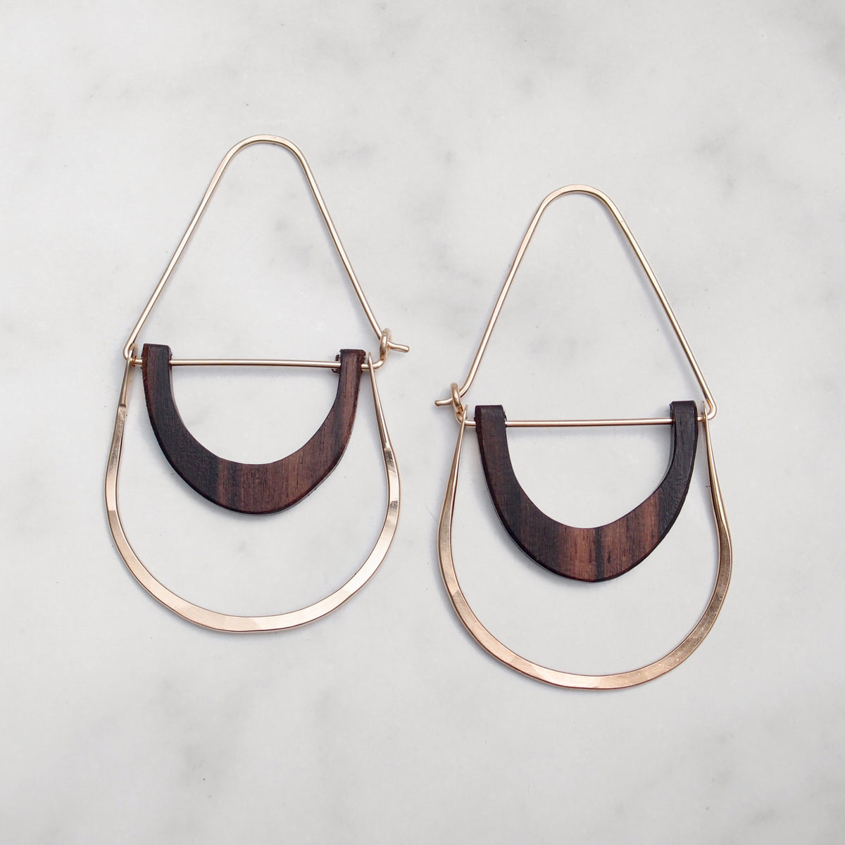 Simone Hoops - 14k Gold Fill