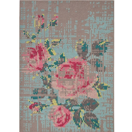 Canevas Flowers Big Rug