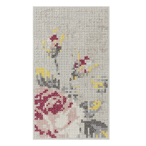 Canevas Flowers Mini Rug Natural