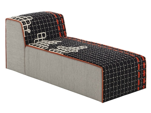 Bandas Chaise Longue D Black